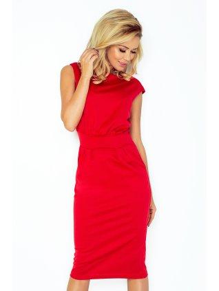 Šaty SARA - červené 144-2