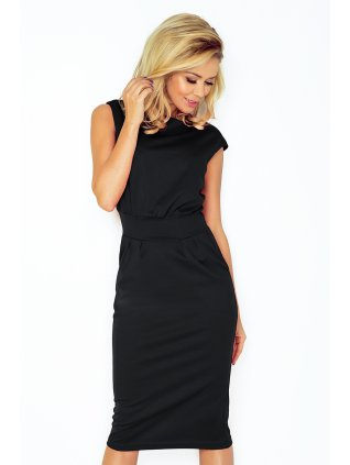 Šaty SARA - čierne 144-3