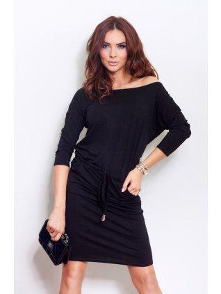 Sporty dress - Black 13-1A (Veľkosť XL)