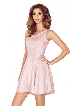 Šaty ružové kvapky 014-5