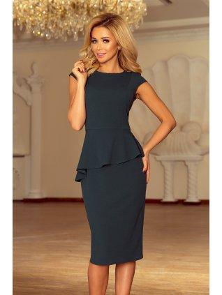 Elegantné šaty s volánikom 192-1