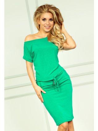 Sporty dress - NEON green 56-2 (Veľkosť XL)