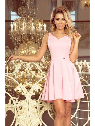 Šaty pastel pink 014-10