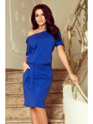 Elegantné šaty modre CASSIE 249-1