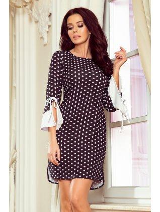Elegantné dots šaty GRACE 232-1