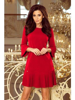 Červené šaty LUCY 228-3
