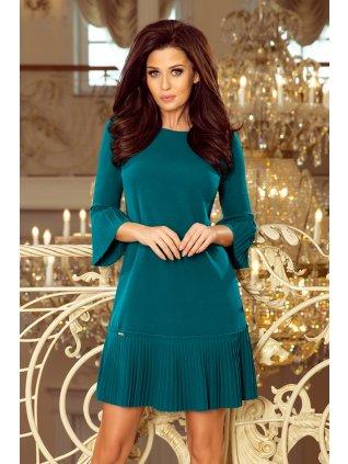 Modre šaty LUCY 228-5