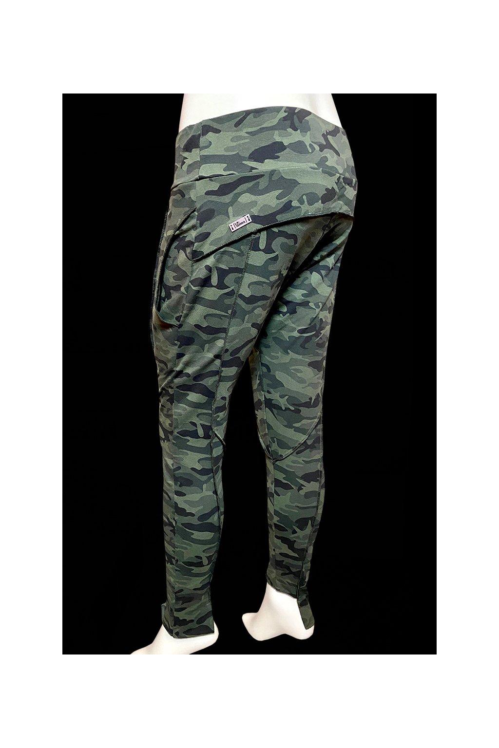 Kalhoty baggy LAIMB 018 ARMY GREEN 1