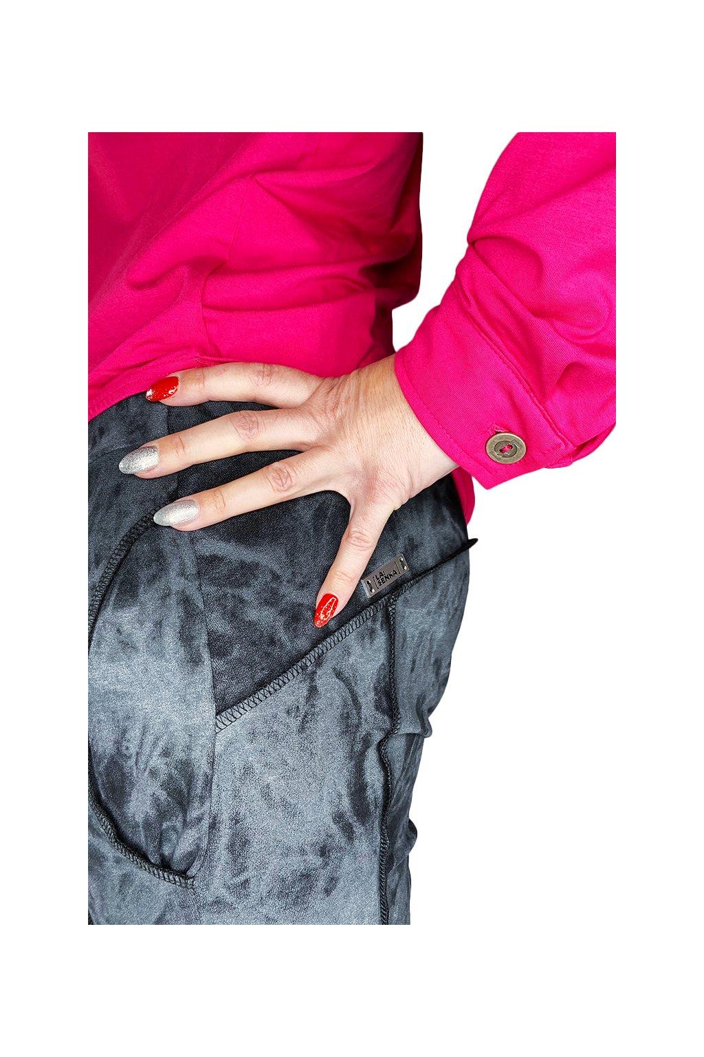 Kalhoty baggy LA IMB 018 GRAY BATIQUE 9