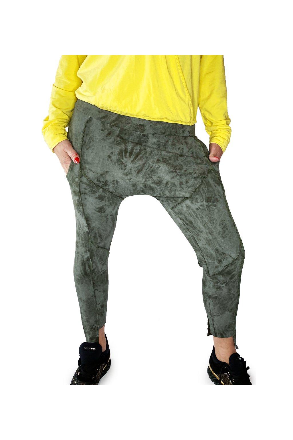 Kalhoty baggy LA IMB 018 KHAKI BATIQUE 9