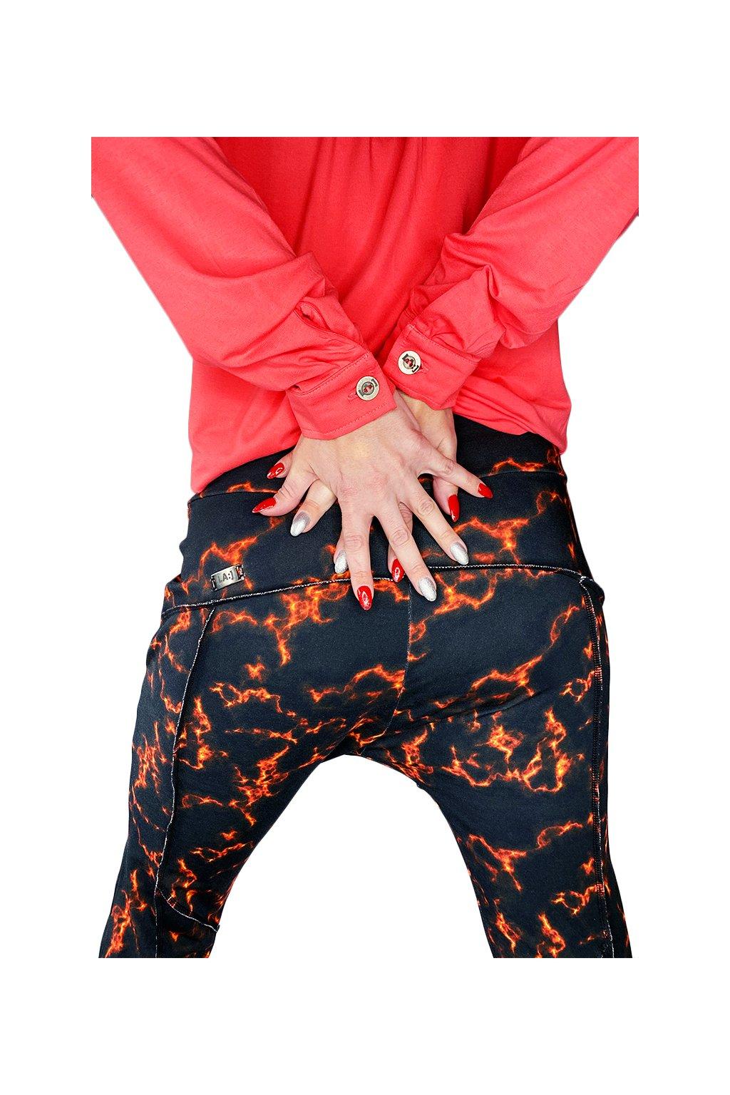Kalhoty baggy LA IMB018 Fire 8