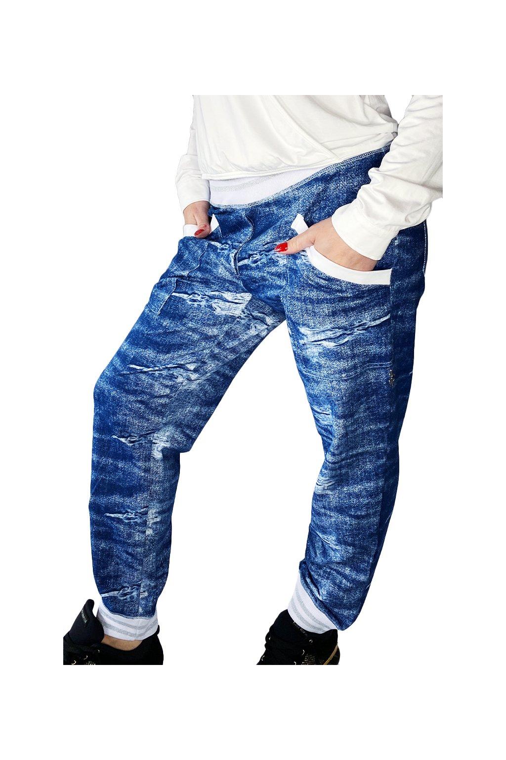 Kalhoty LA IMB 015 STREET JEANS 2