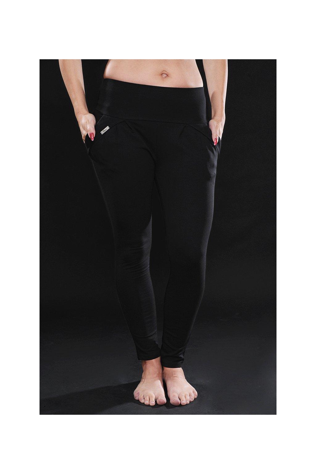 Kalhoty leggie LASENKA BLACK1