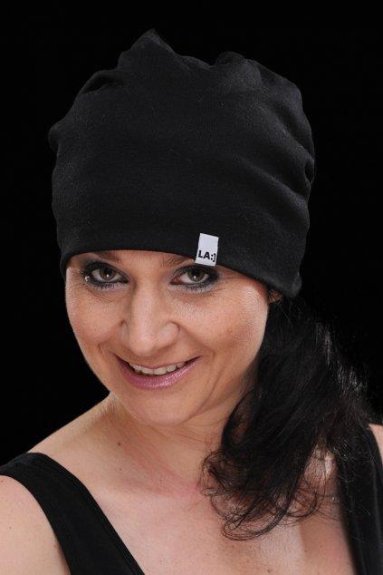 Bavlněná čepice BLACK1