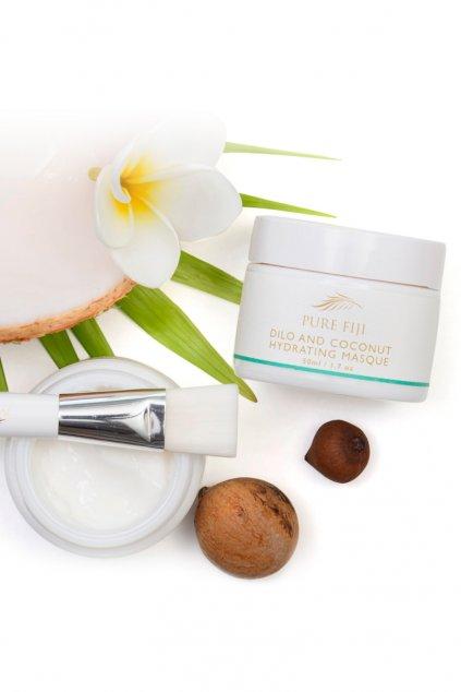 Hydratační dilo maska s kokosem