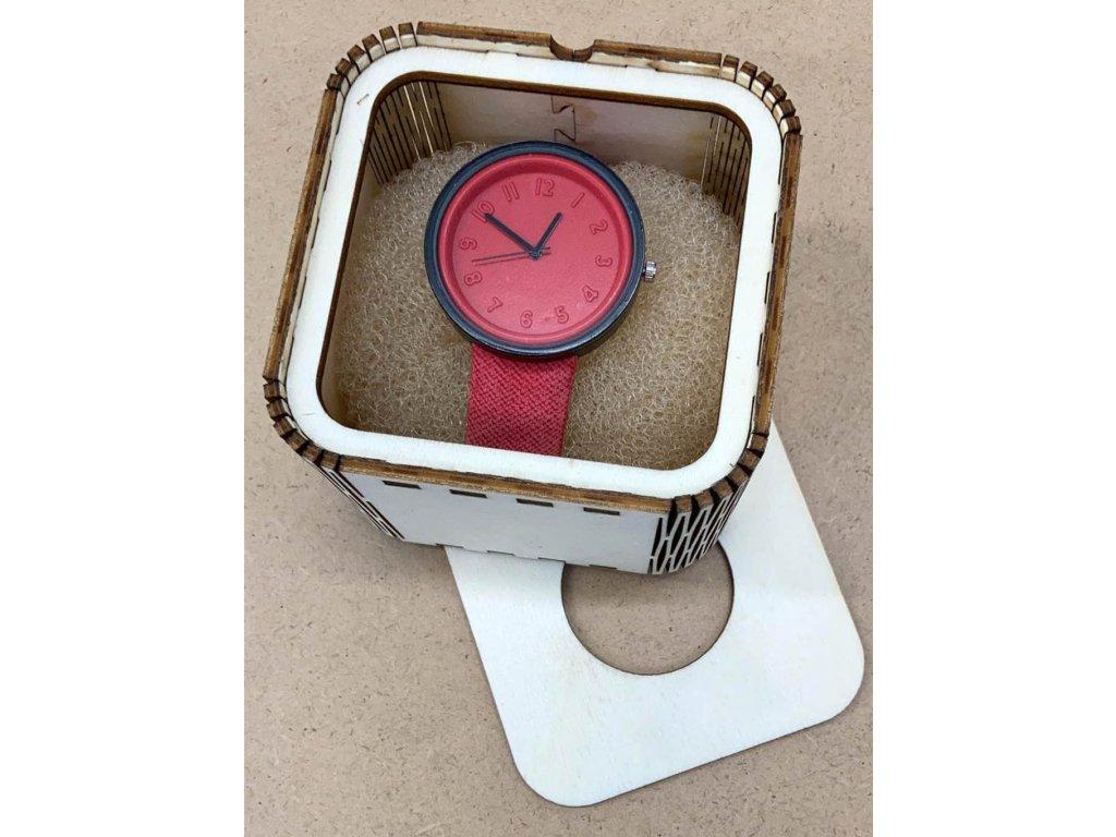 drevena krabicka-krabicka na hodinky-krabicka-drevo