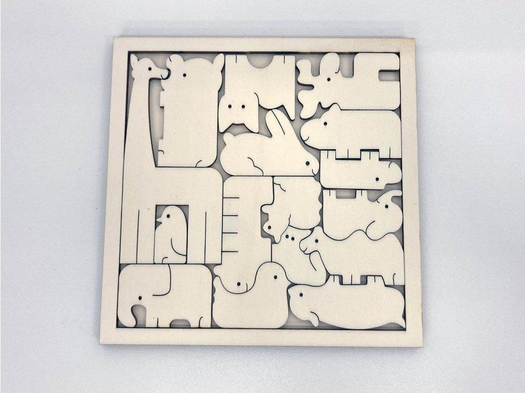 puzzle zvieratka-drevene puzzle-puzzle-zvieratka-montessori