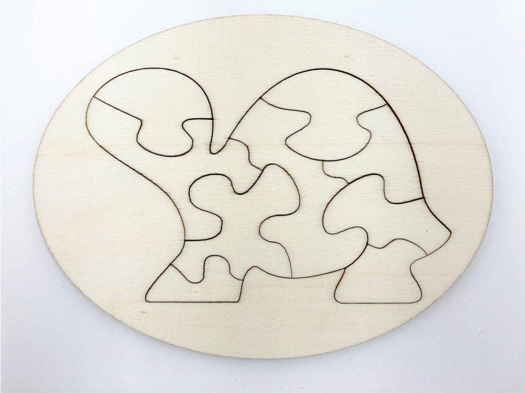 drevene puzzle-puzzle-pes-psik-puzzle-drevo-montessori