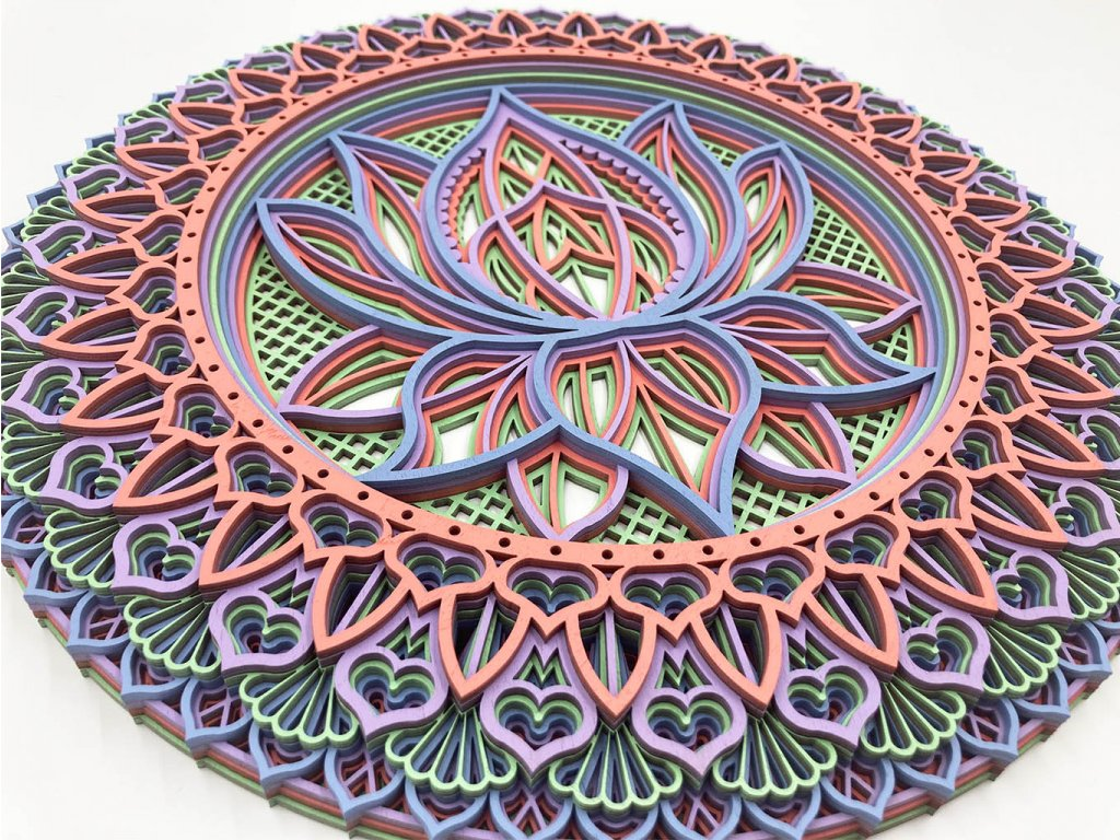 mandala-lotos-3D-lotus flower