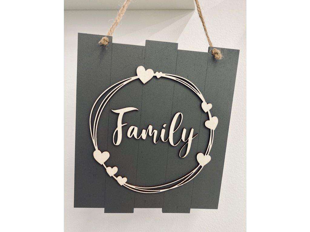 drevena dekoracia-zavesna dekoracia-drevo-dekoracia-family