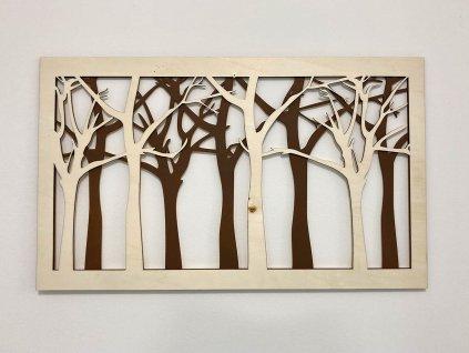 obraz-forest-trees-dreveny obraz-drevo