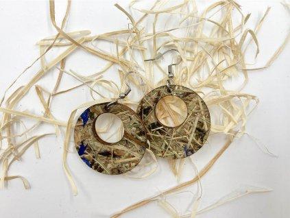 nausnice-seno-drevene nausnice-organoid