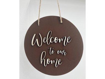 drevena dekoracia-zavesna dekoracia-drevo-dekoracia-welcome to our home