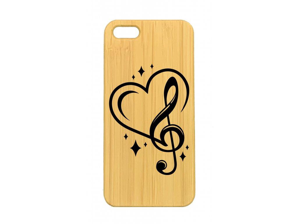 iPhone 5,5s Srdce Hudebníka