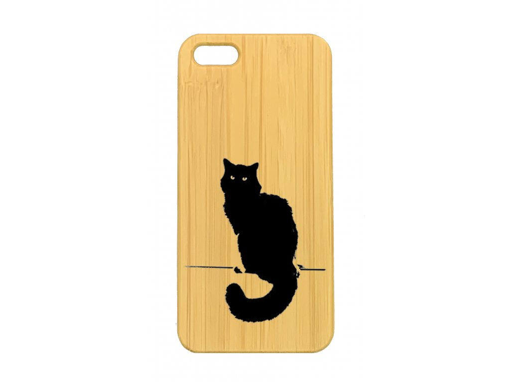 iPhone 5,5s cat on a stick