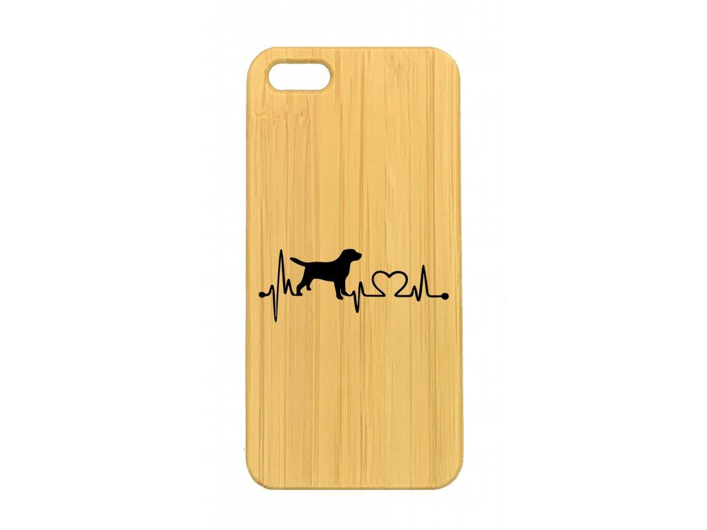 iPhone 5,5s Labrador srdeční tep