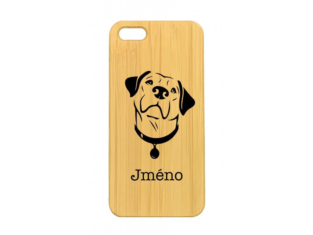 iPhone 5,5s Labrador + jméno