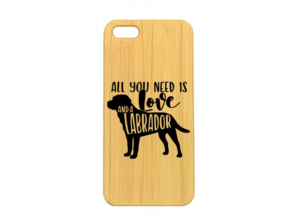 iPhone 5,5s All you need is labrador