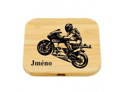 Wirless nabijecka biker + Jméno