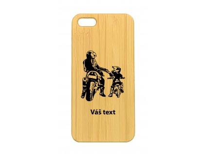 iPhone 5,5s Motorky táta a syn