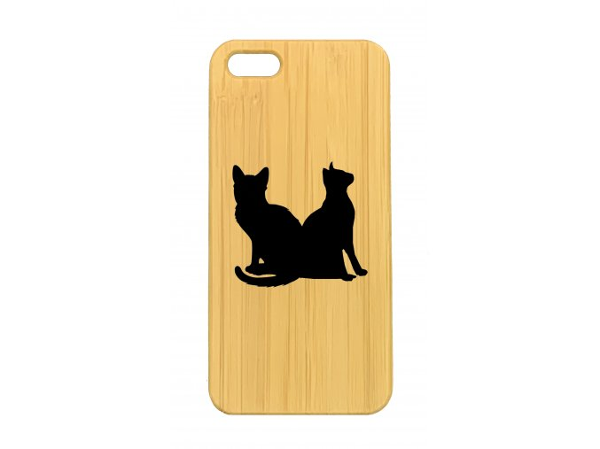 iPhone 5,5s Two cats