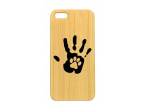 iPhone 5,5s hand and paw