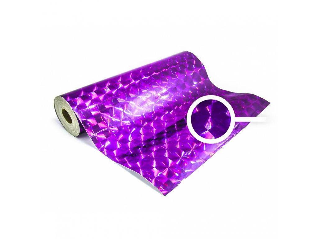 LBLA Fólie pod pěnovou pásku - fialový design