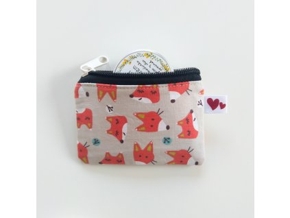 Mini taštička Lišky