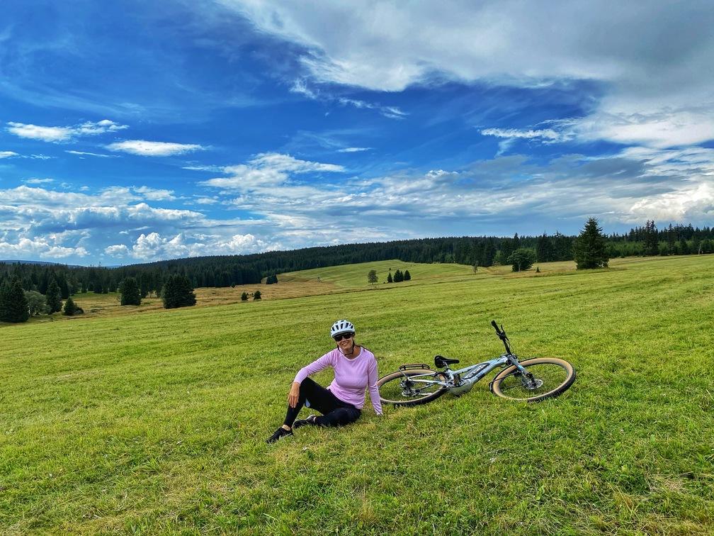 Krušné hory na kole