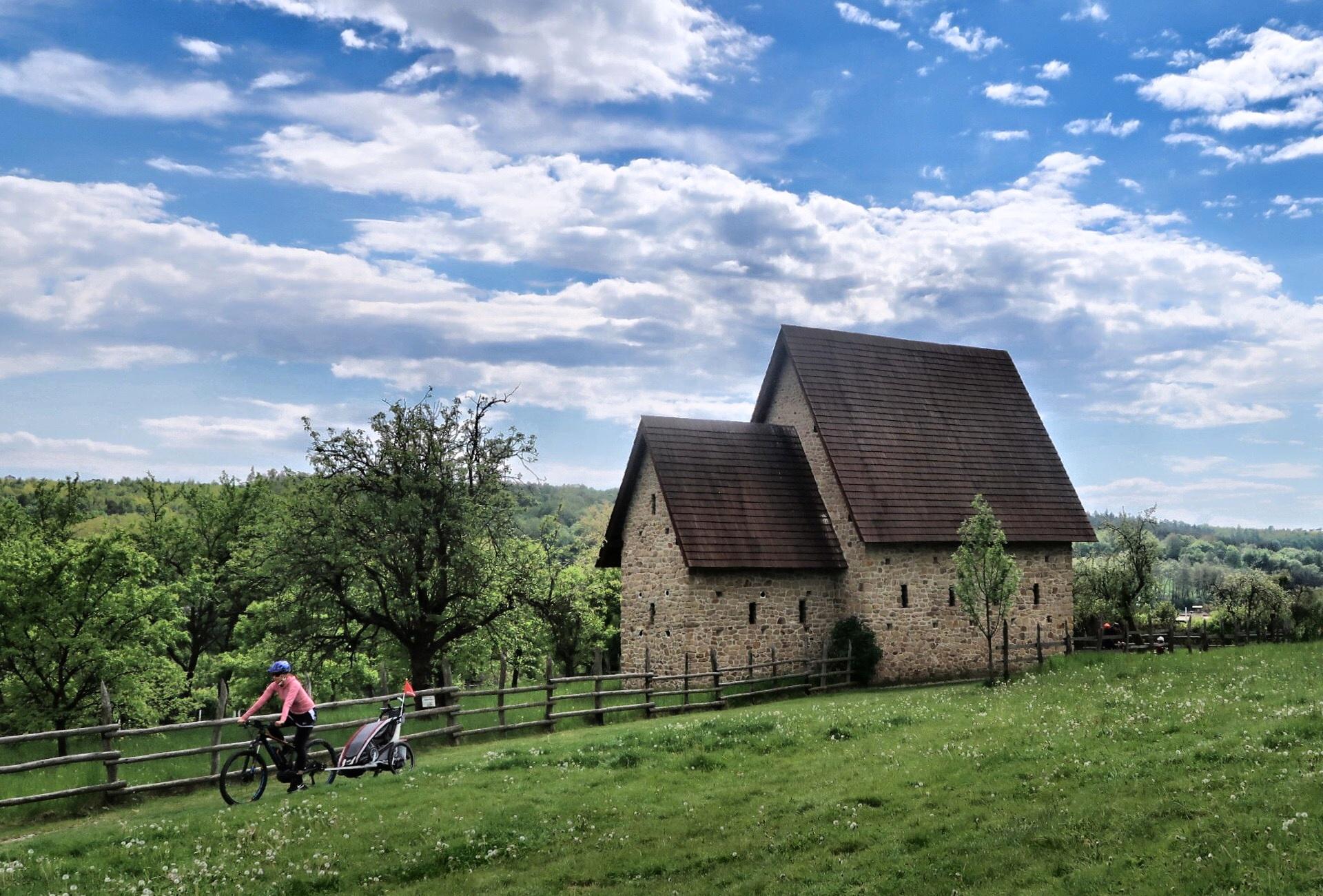 Okolí Uherského Hradiště na kole