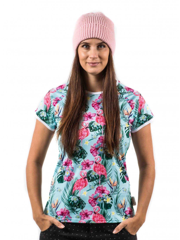 Funkční tričko Flamingo