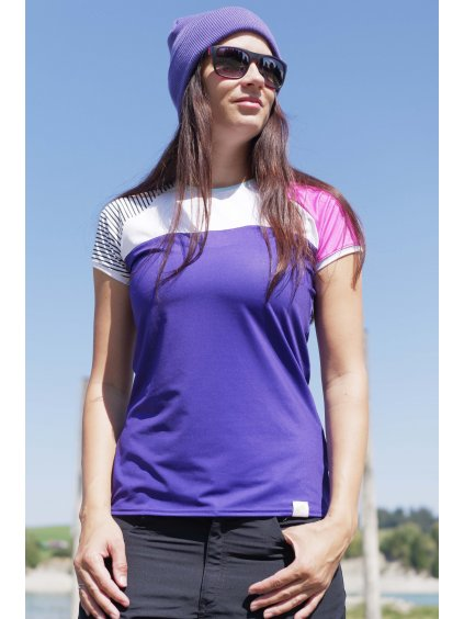 Dámské triko fialové