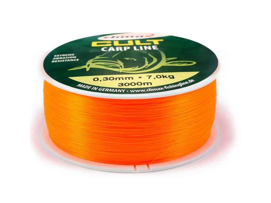 Climax silon CULT Carpline oranžový 3000m