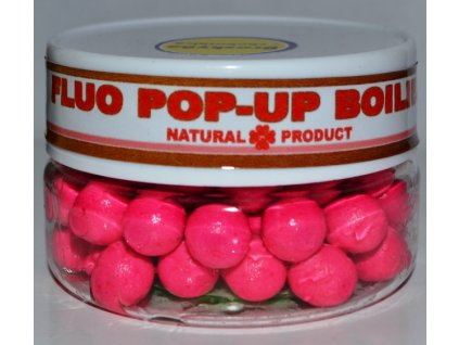 FLUO POP-UP Boilies -pink-10 mm