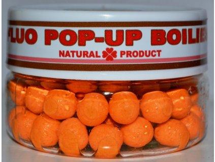 FLUO POP-UP Boilies -orange-10 mm