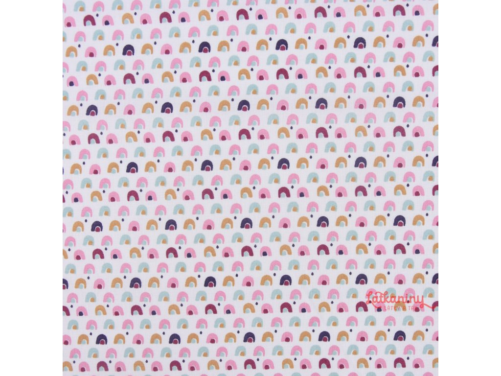 4e645a3e3eb2 dětská bavlna metráž · dětská látka domečky rozměr · bavlna pastelové  domečky ...