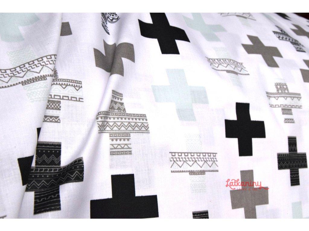 f928a788348a BAVLNA PLUSY · BAVLNA PLUSY · bavlna černobílá · bavlna látka ...