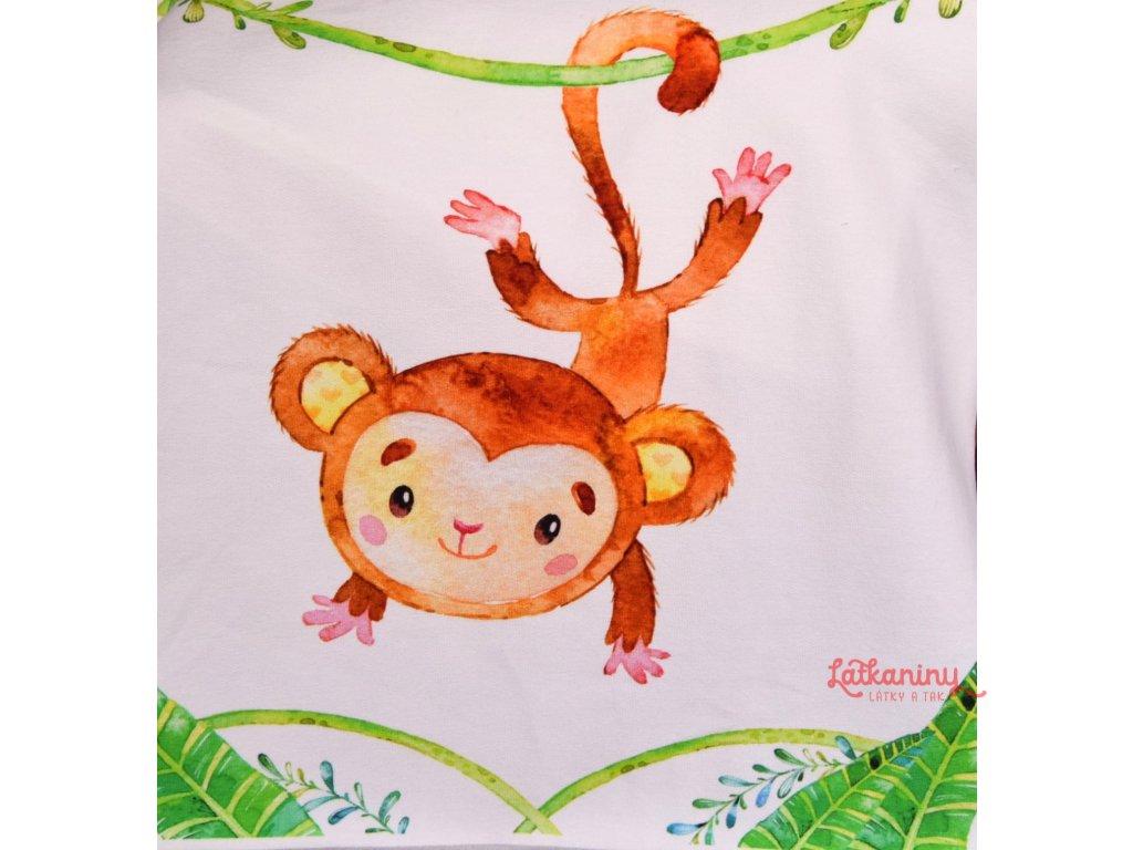 látkový panel opička
