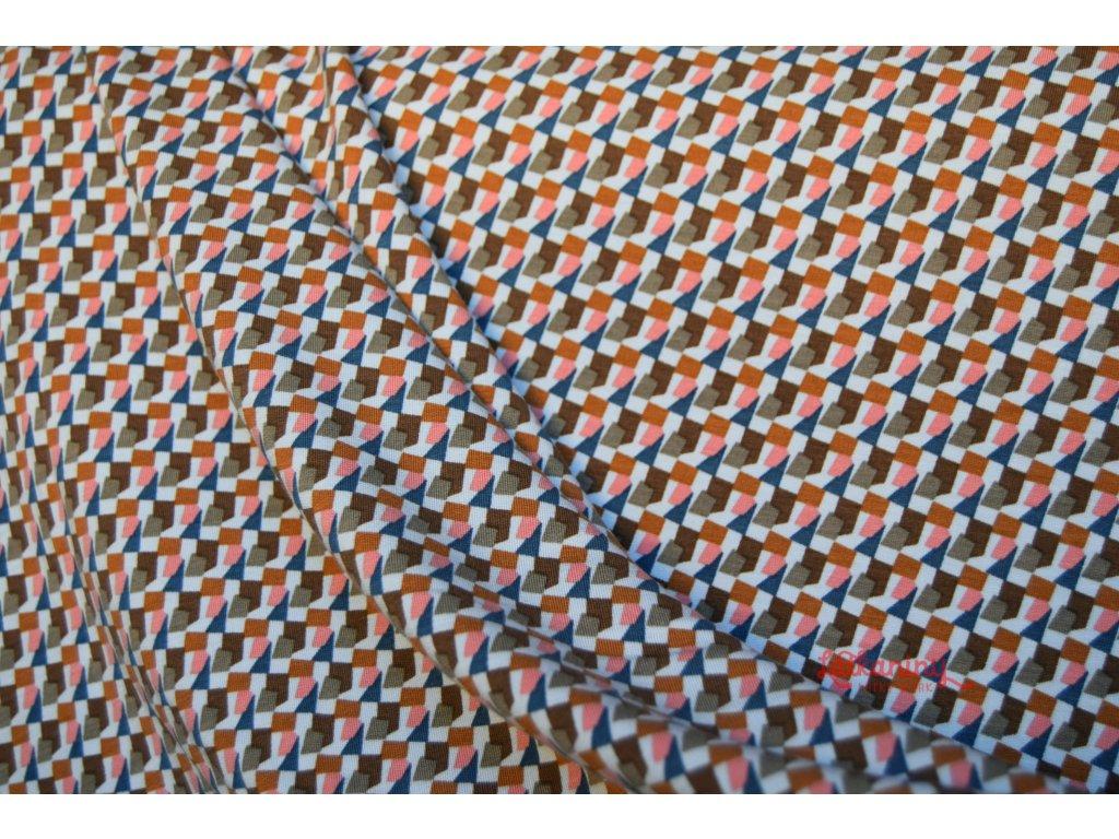 7c7cd03222d9 Teplákovina modal vzor - Látkaniny