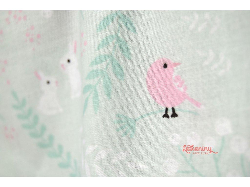 d80d79268fa1 bavlna metráž velikonoce · BAVLNA VELIKONOCE · bavlna zajíček ptáček ...